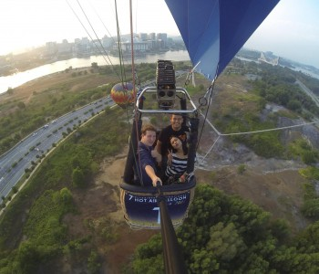 Balloon Flight Putrajaya Selfie