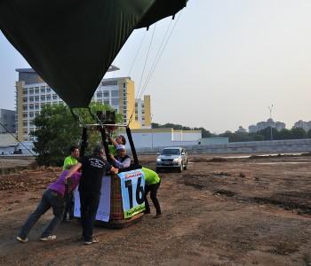 Putrajaya Balloonflight With Myballoonadventure Landing