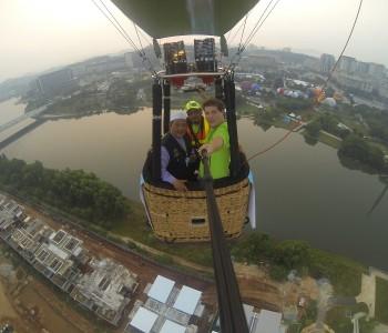 Putrajaya Balloonflight With Myballoonadventure