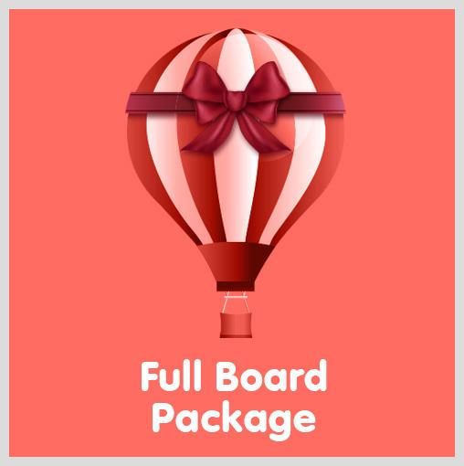 Full Board Package Gift Voucher